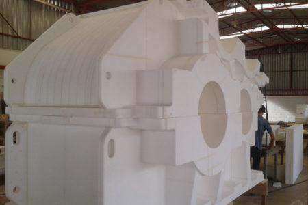 Modelo Industriais em Isopor